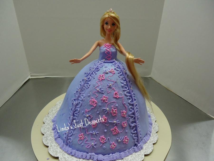 Rapunzel Doll Cake Recipe