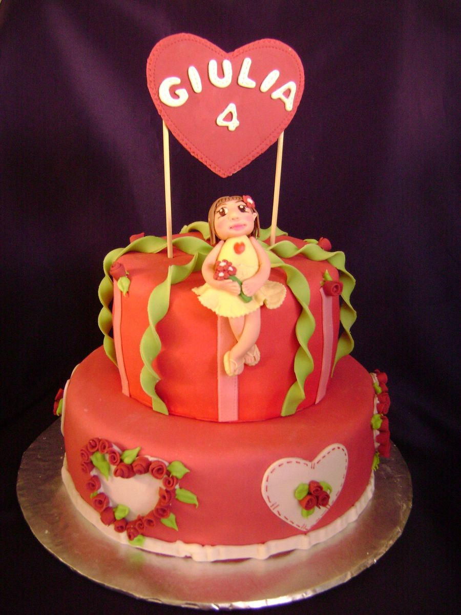 Valentine's Doll Cake on Cake Central