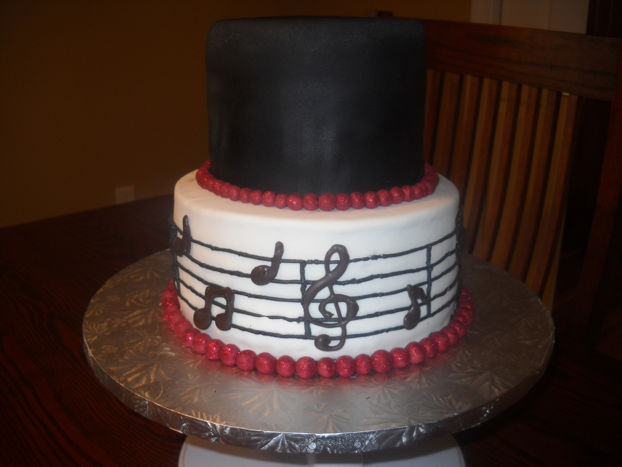 Twins 18Th Birthday Music Theme Cake on Cake Central