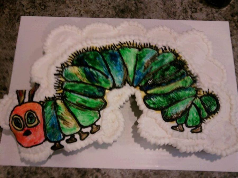 Hungry Caterpillar Cupcake Cake on Cake Central