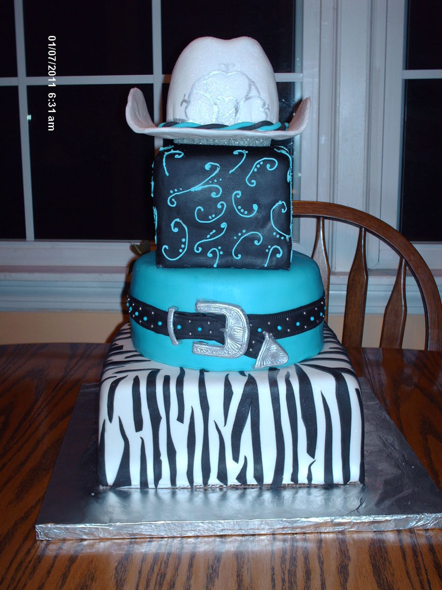 Cowgirl  on Cake Central