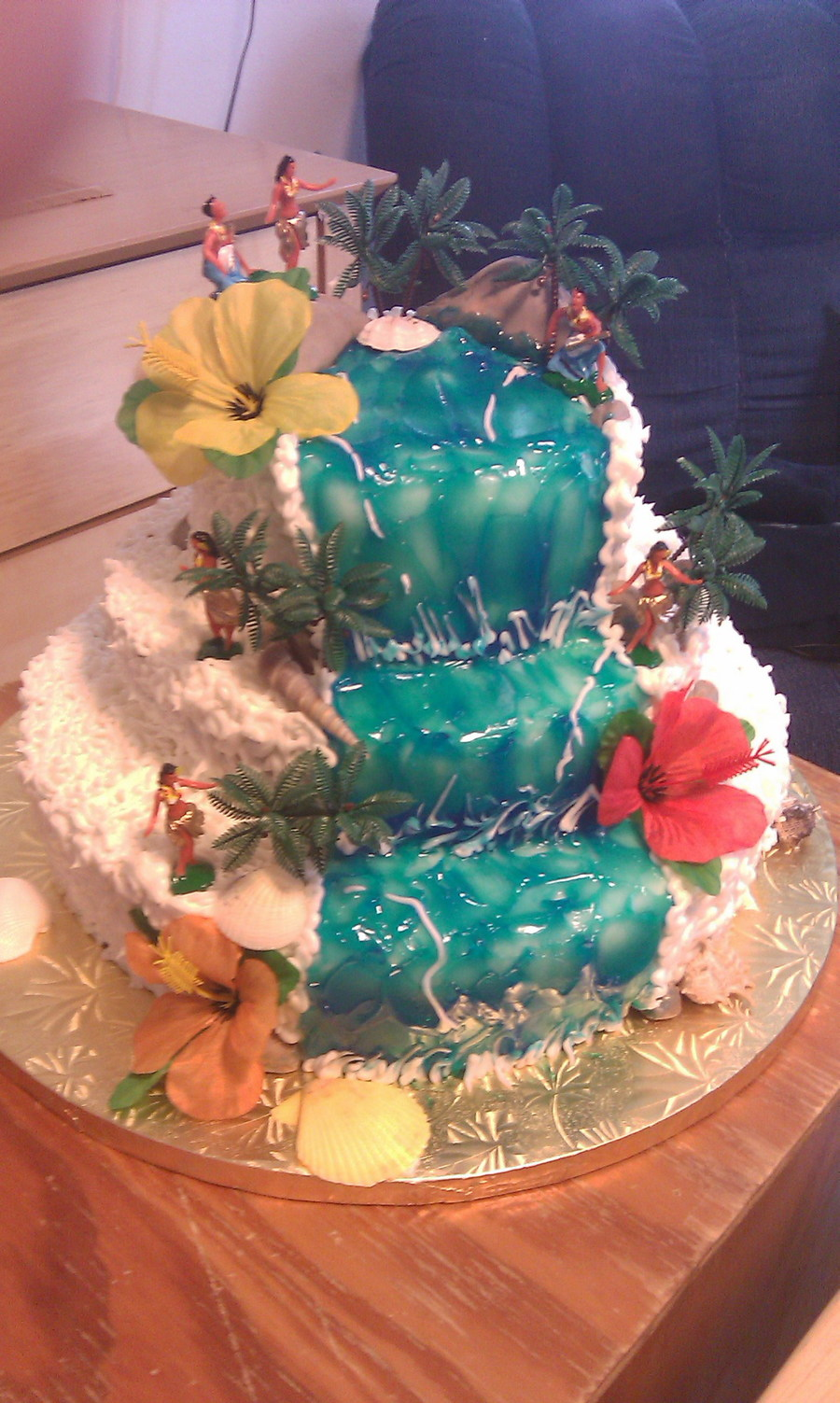 hawaiian wedding cakes hawaiian wedding cake cakecentral 4753