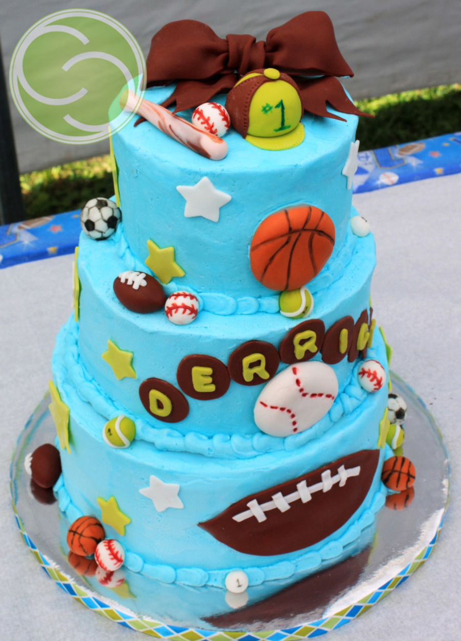 All-Star 1St Birthday Cake on Cake Central