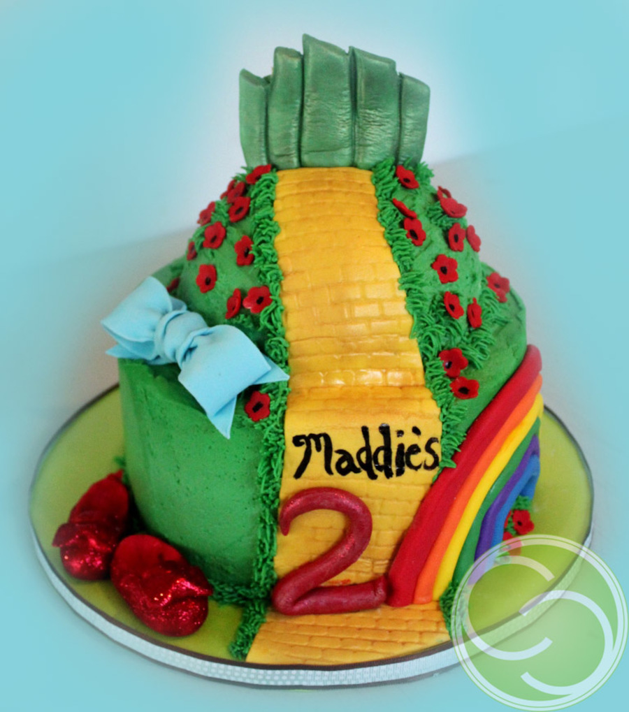 Wizard Of Oz-2 Years Old on Cake Central