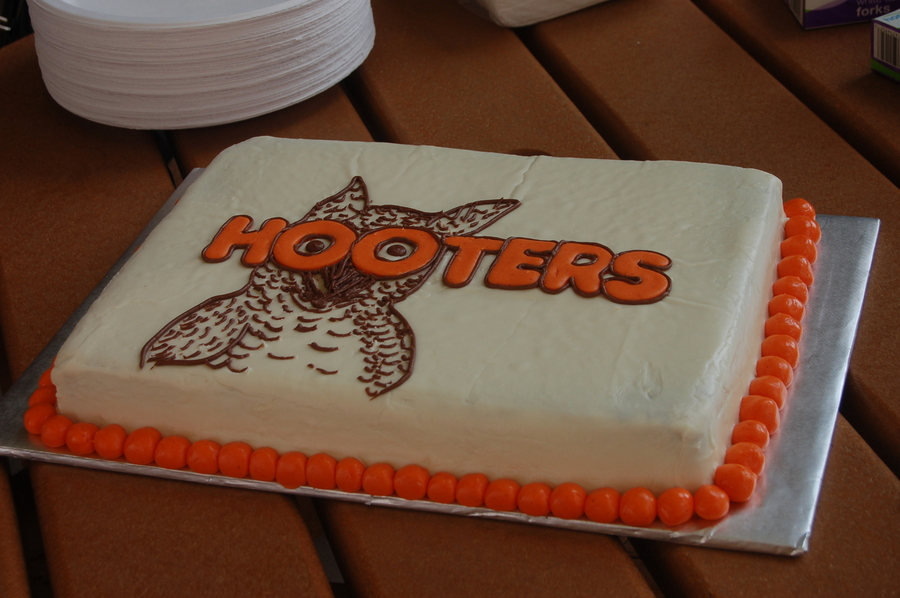Hooters Birthday on Cake Central
