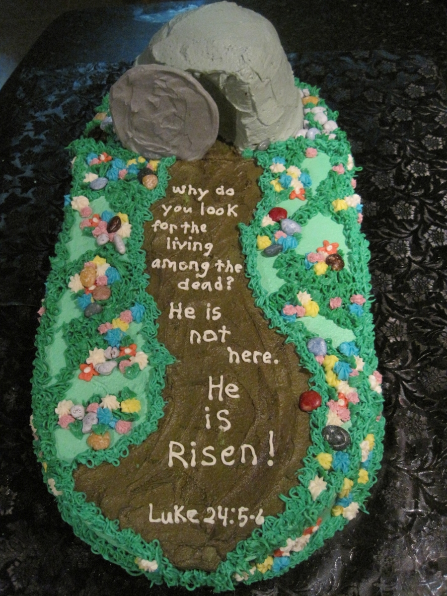 He Is Risen Cakecentral Com