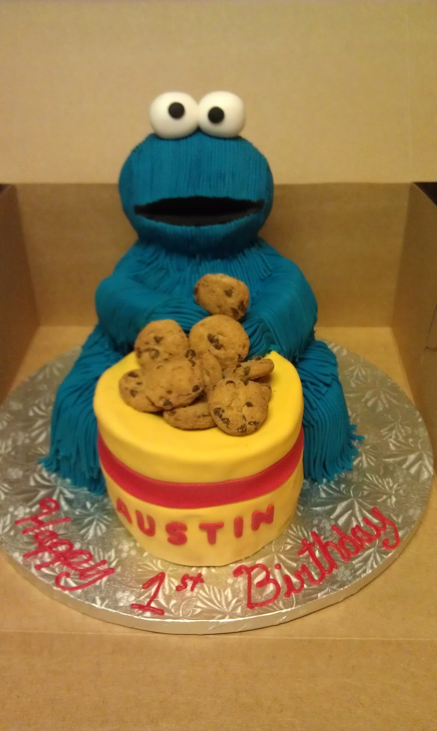 Cookie Monster 1St Birthday on Cake Central