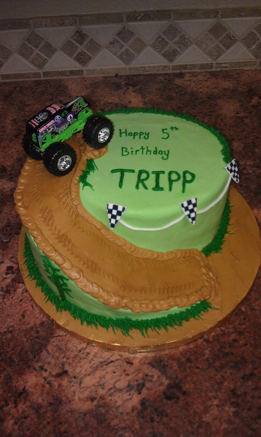 Monster Truck Birthday Cake Cakecentral Com
