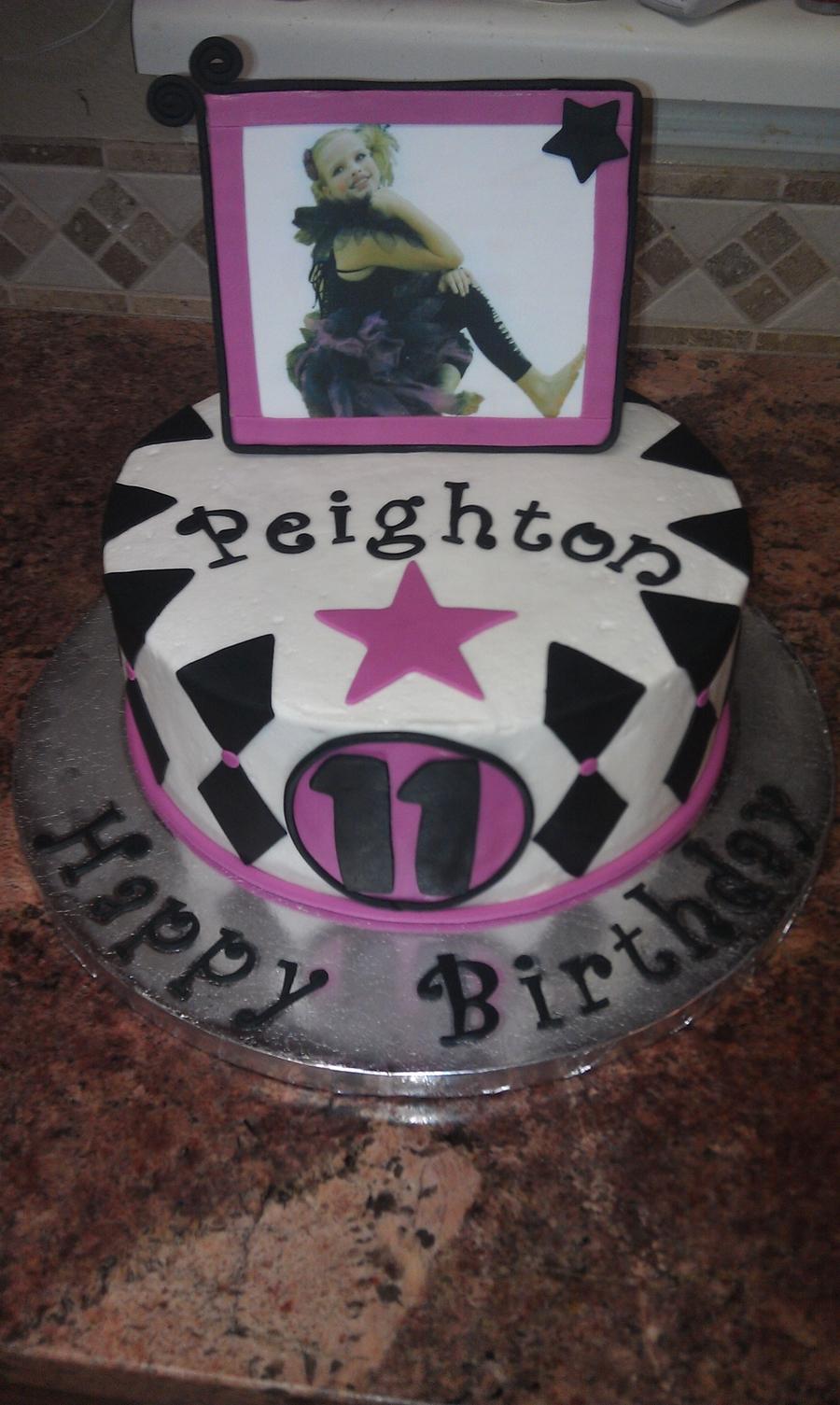 Awesome Dance Birthday Cake Cakecentral Com Funny Birthday Cards Online Hetedamsfinfo