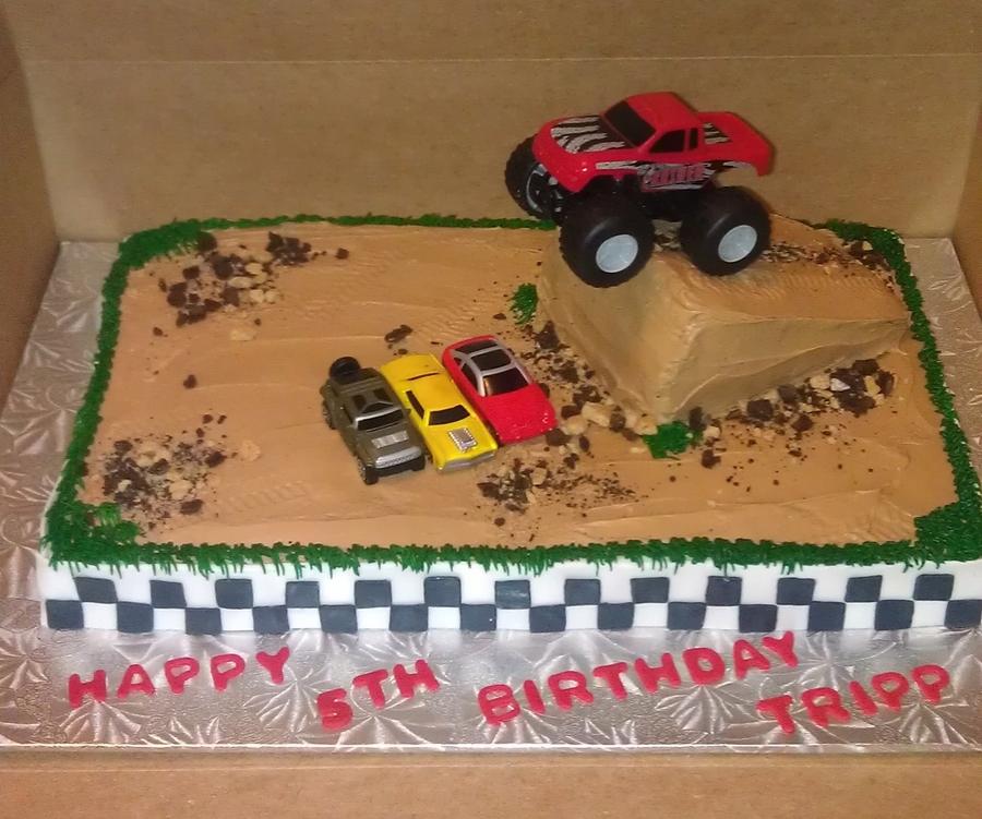 Monster Truck Birthday Cake Cakecentral