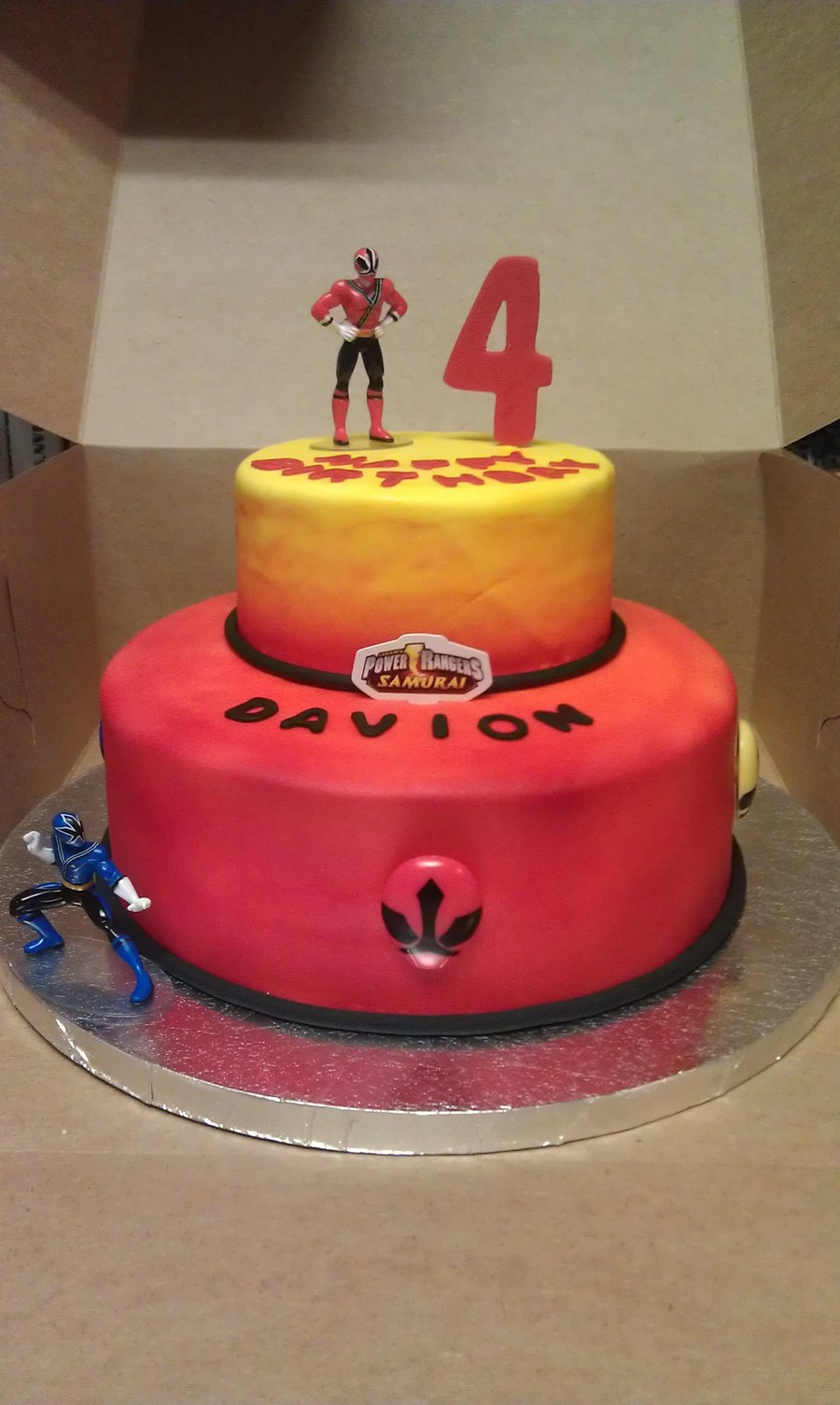 Power Ranger Birthday Cake on Cake Central