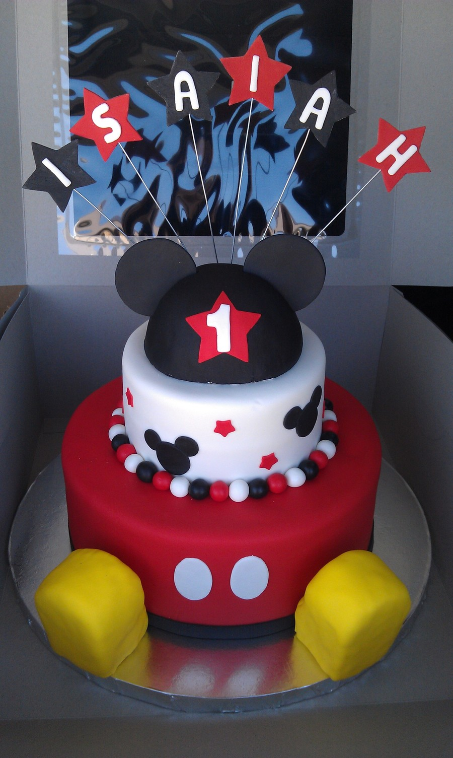 Mickey Mouse 1st Birthday Cakecentral Com