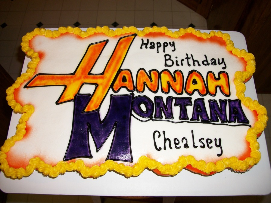 Chealsey's Hannah Montana Birthday! on Cake Central
