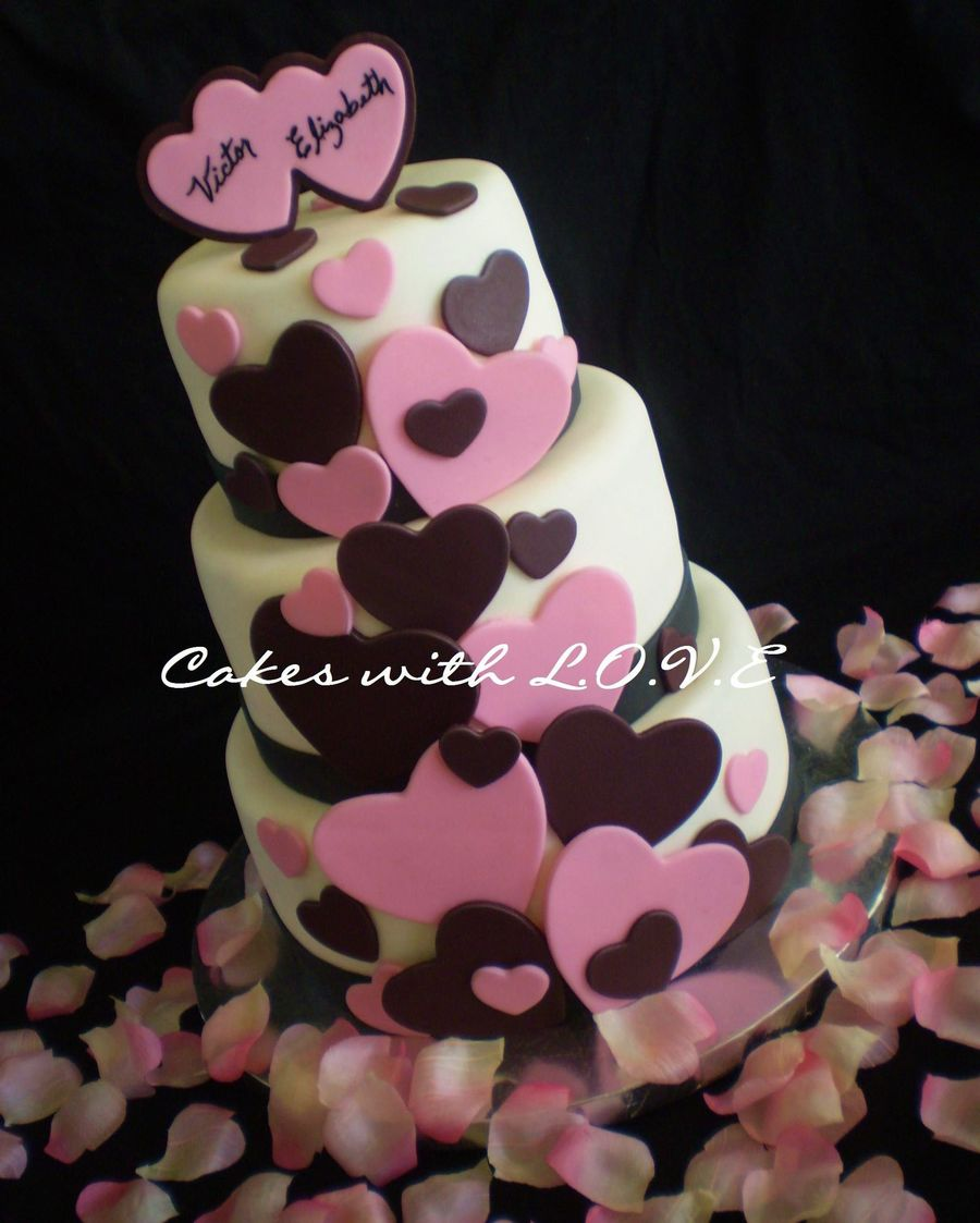 Valentines Day Wedding on Cake Central