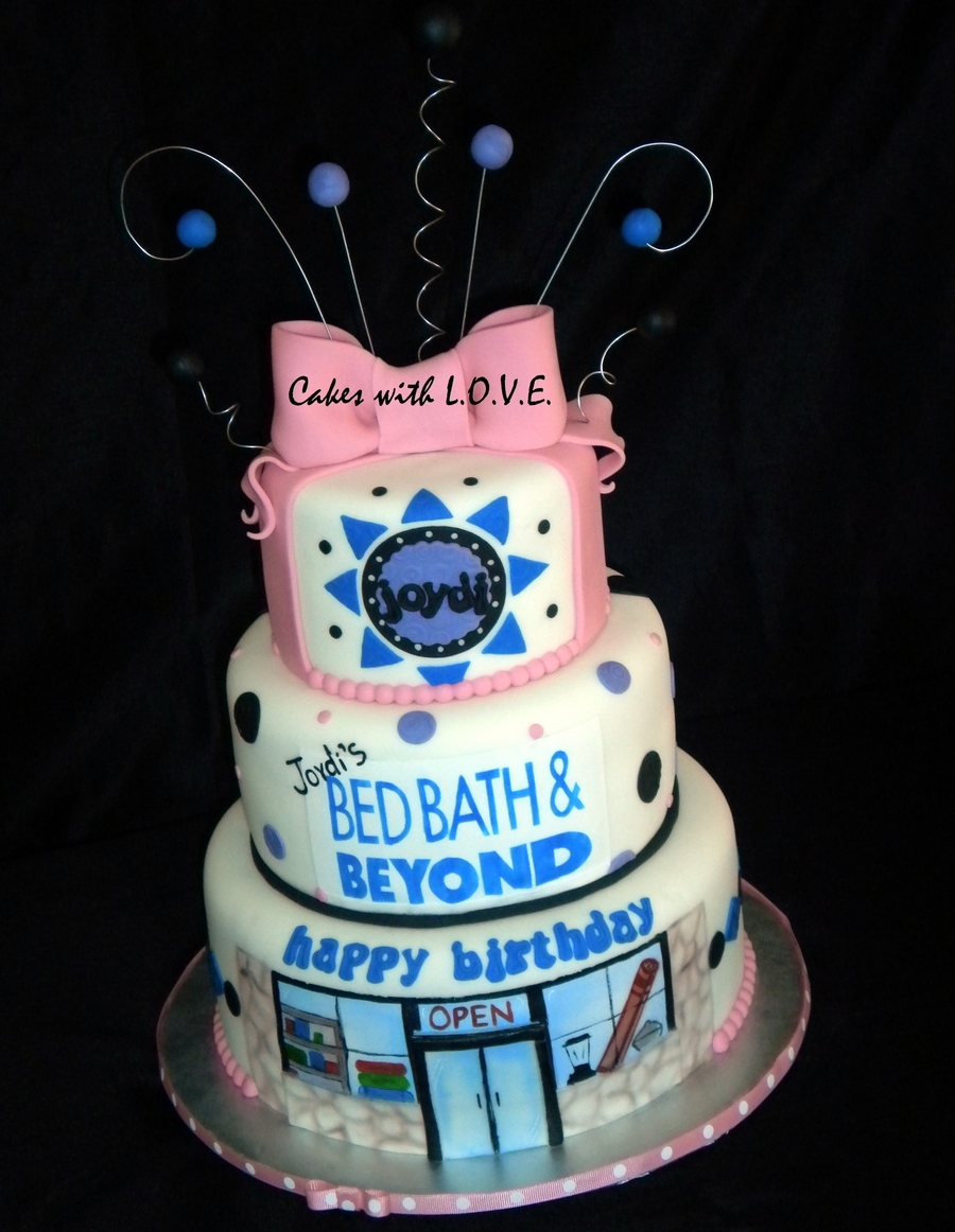 Bed Bath And Beyond :) on Cake Central