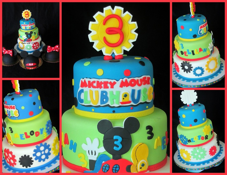 Mickey Mouse Clubhouse Cake With Smashs on Cake Central