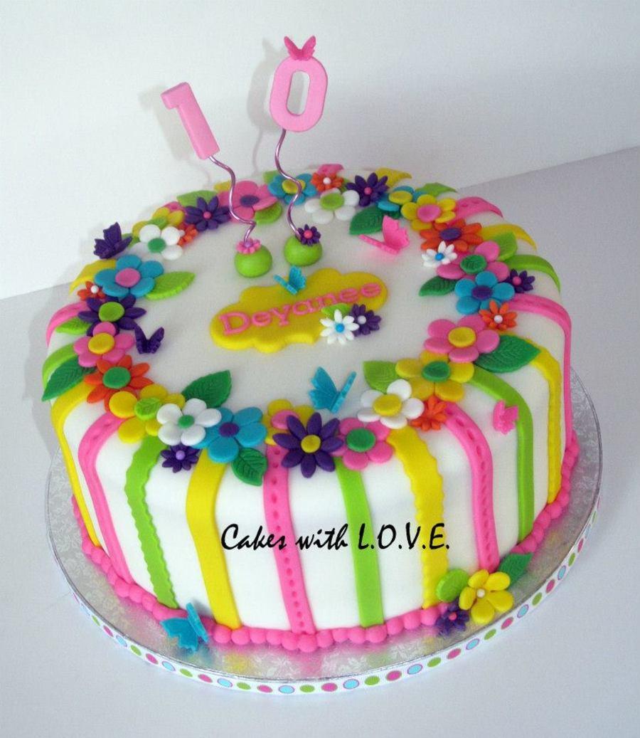 Little Girl Birthday Cake Ideas