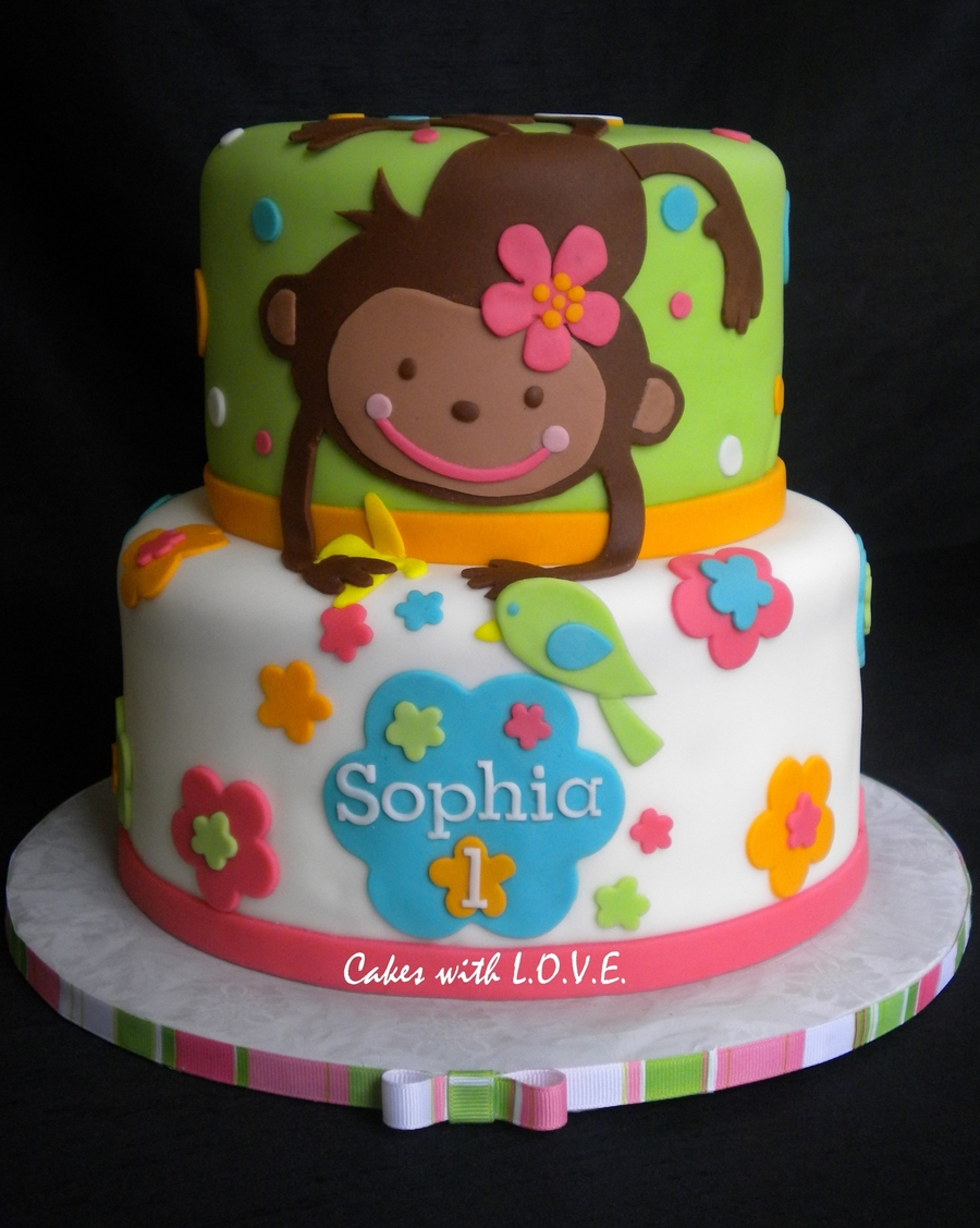 Monkey Love - Cakecentralcom-5422