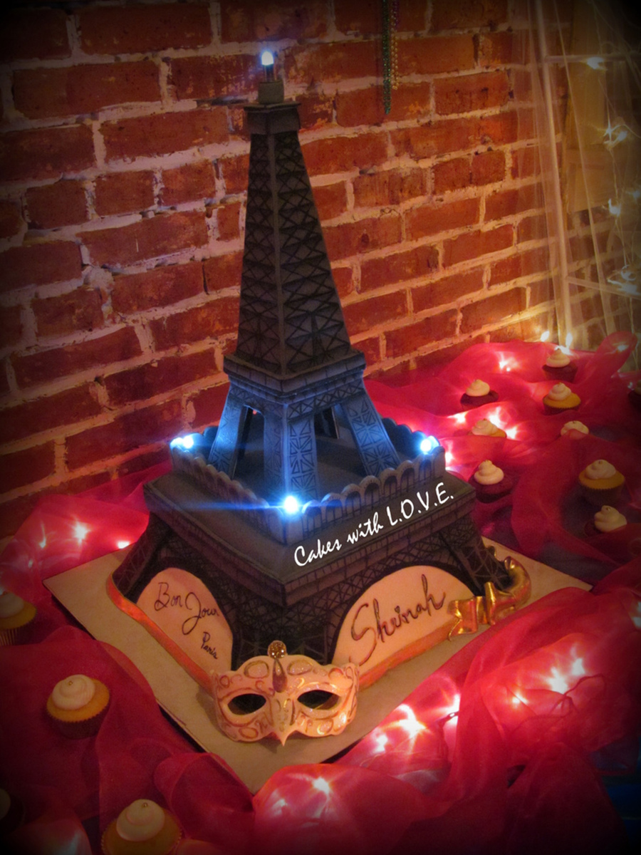 Image Result For Birthday Cake Eiffel Tower