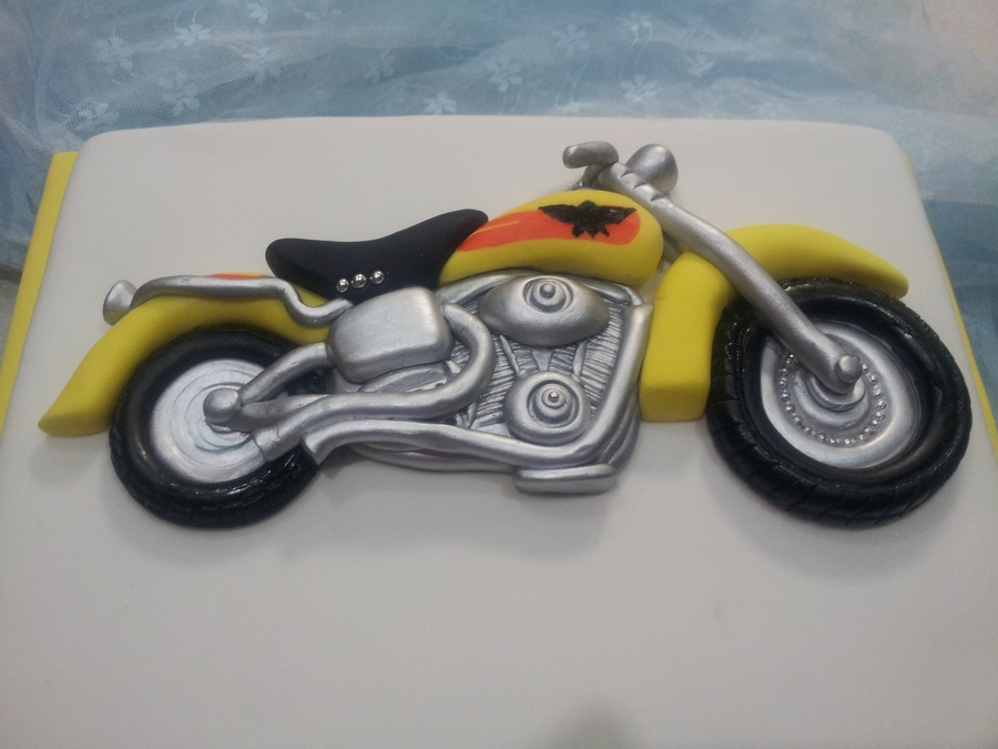 Harley Motorbike on Cake Central