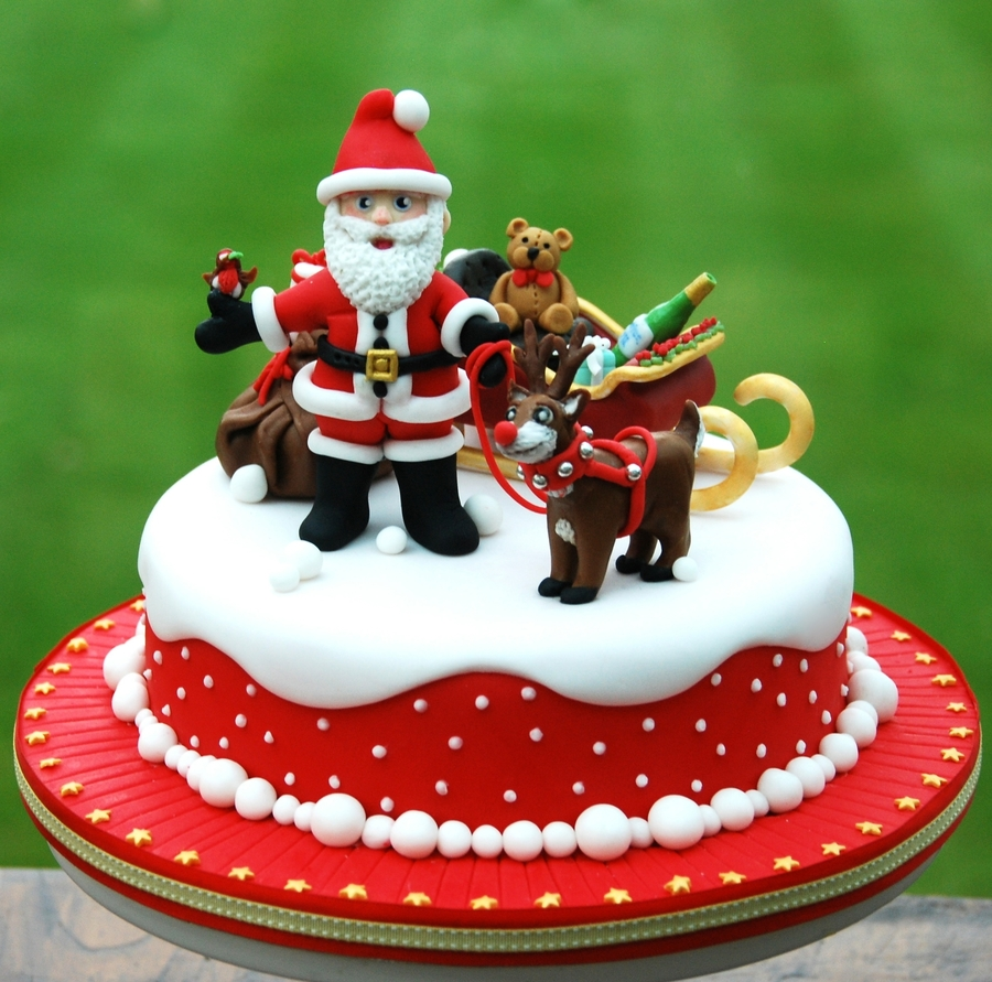 Lead The Way, Rudolf! - CakeCentral.com