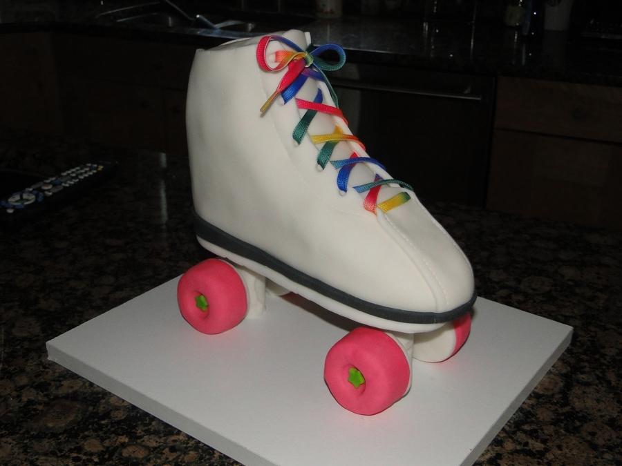 Roller Skate Cake Tutorial