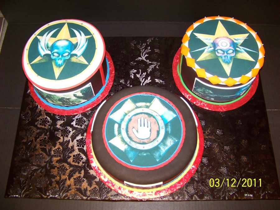 Halo Cakes on Cake Central