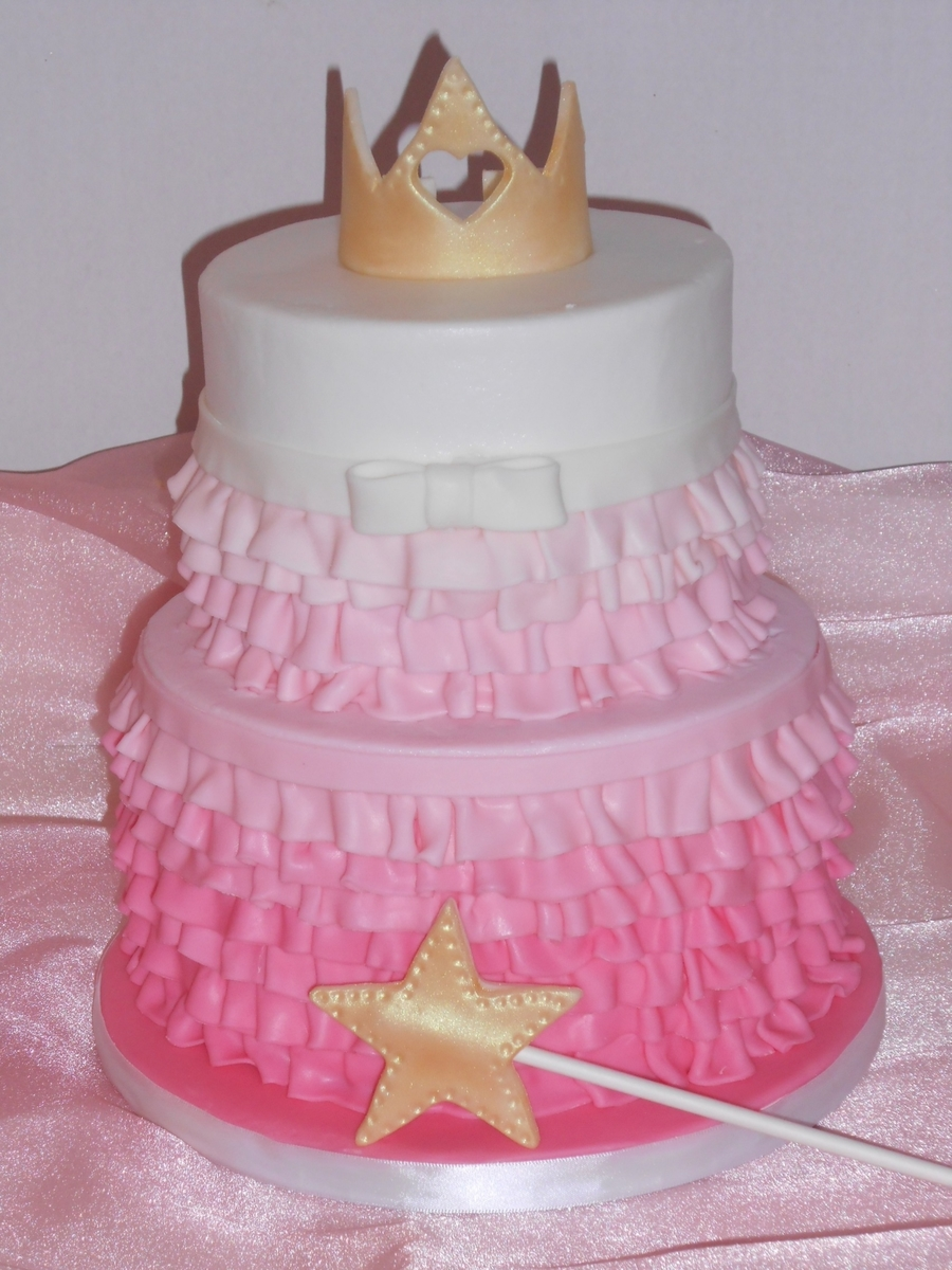 Priness Ruffles on Cake Central