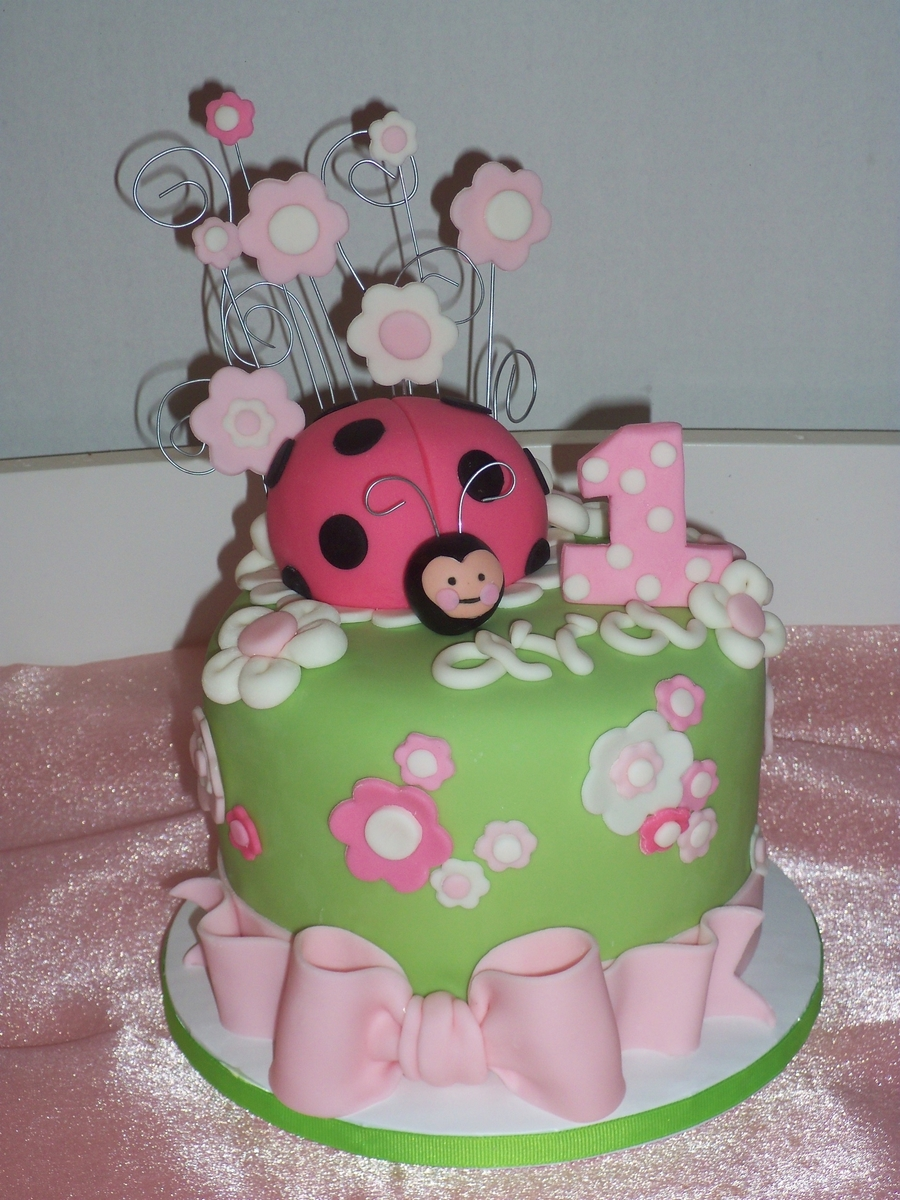 Baby Ladybug on Cake Central