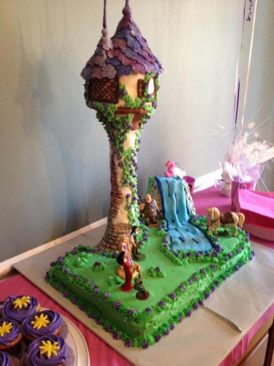 3rd Birthday Tangled Cake Cakecentral Com