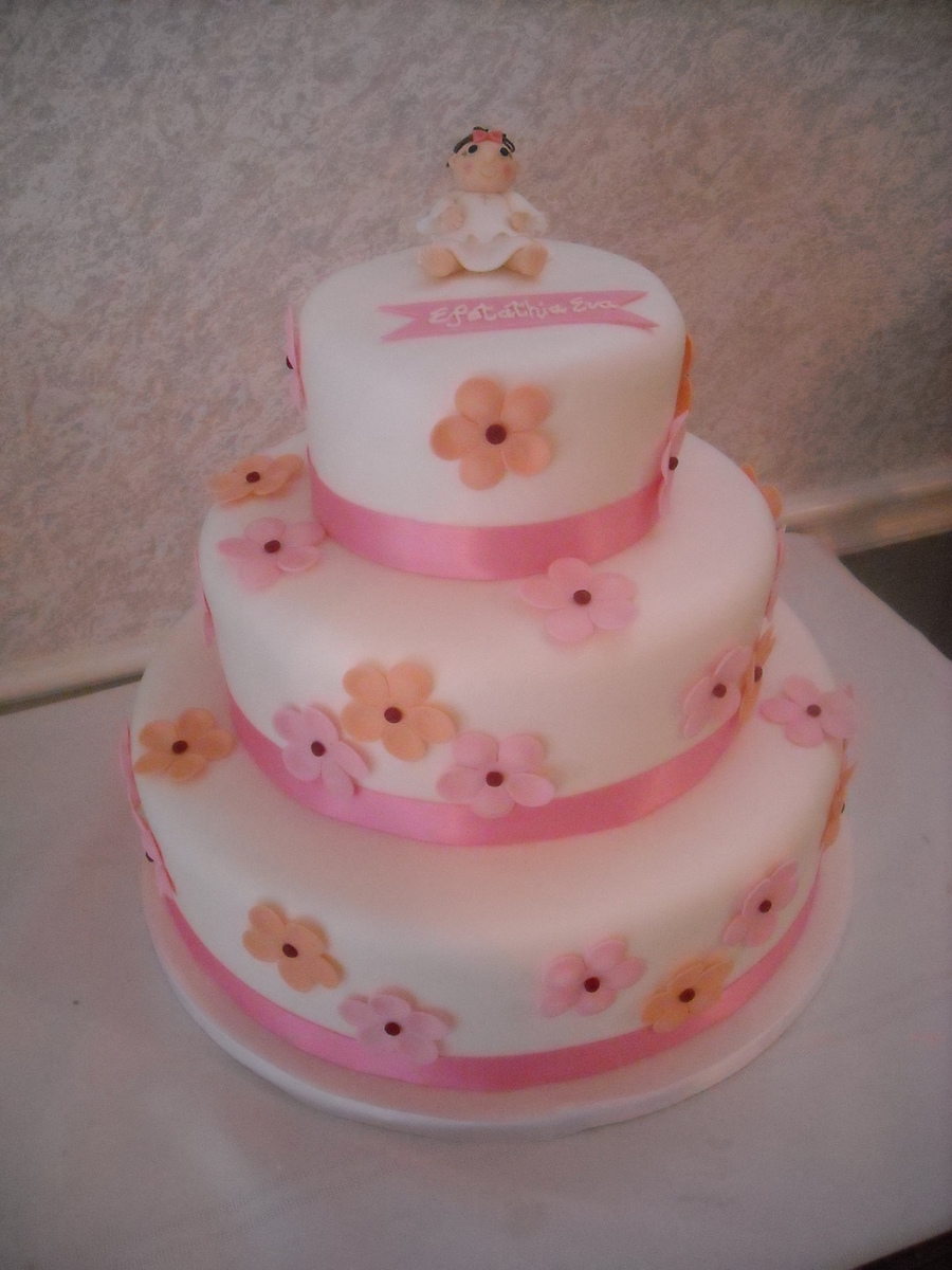 Tiered Baby Shower on Cake Central