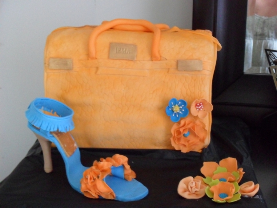 Purse N Shoe on Cake Central
