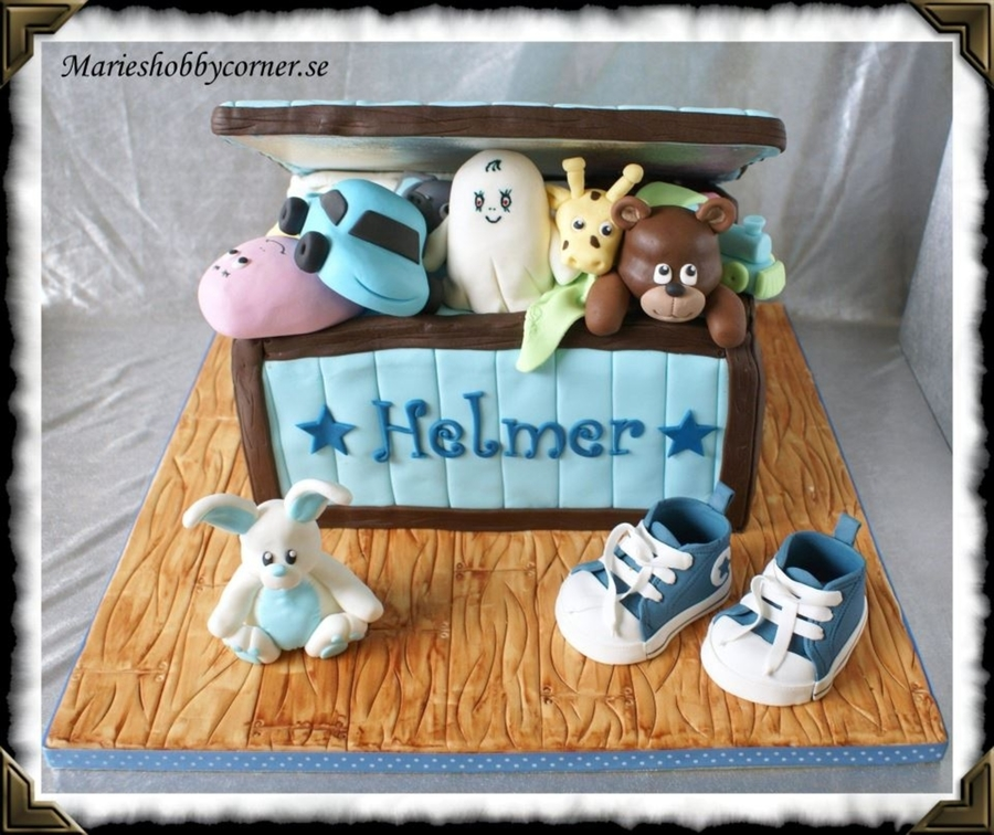 Toy Box Cake on Cake Central