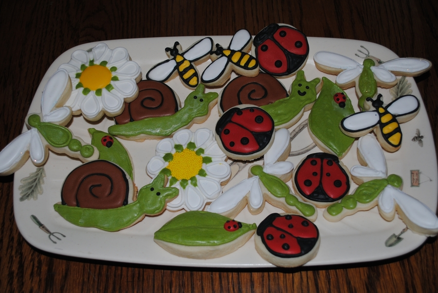 Spring Cookies on Cake Central