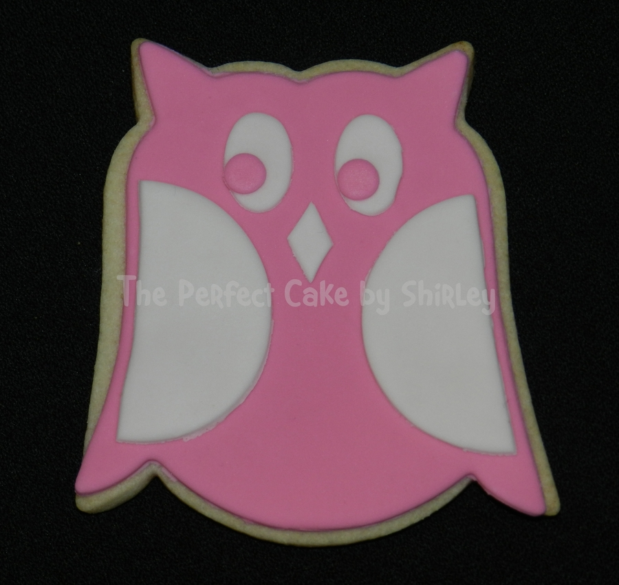 Owl Cookies For Baby Shower Based On The Nursery Bedding Nfsc With Fondant on Cake Central