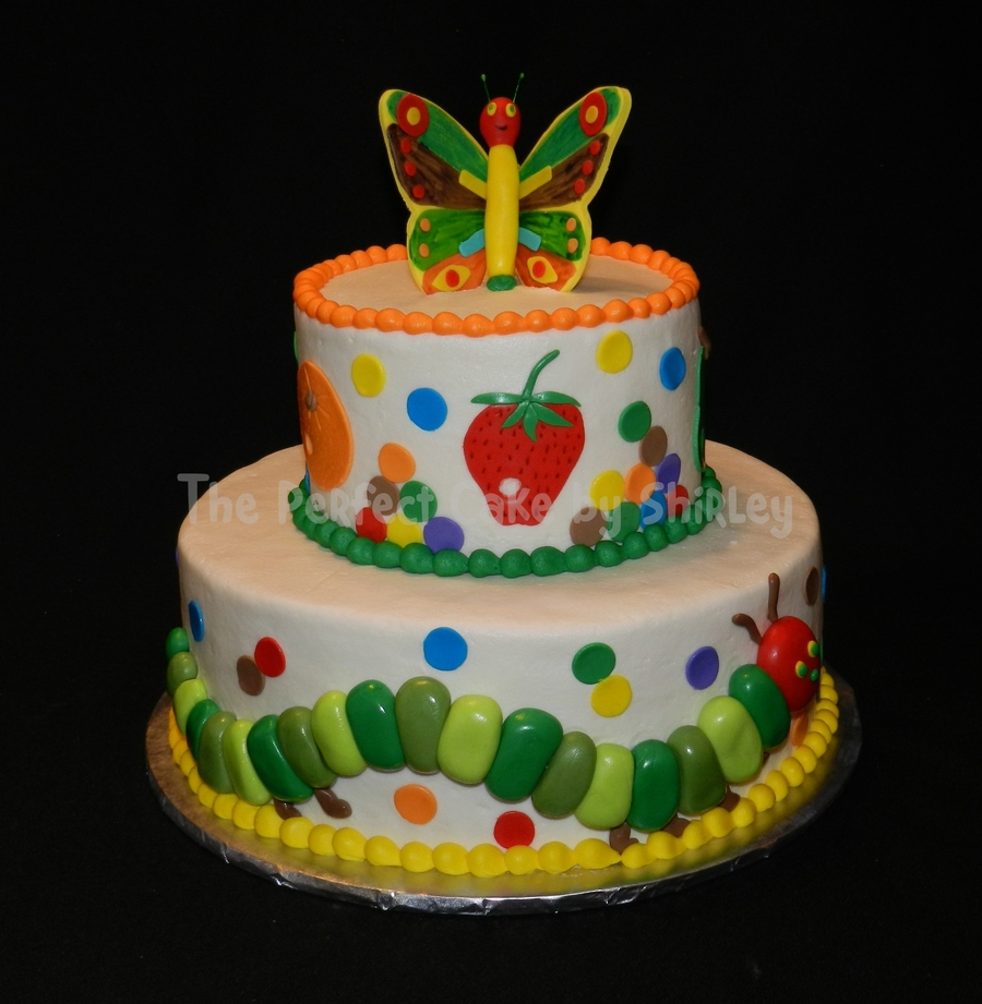 The Hungry Caterpillar Cake Decorations