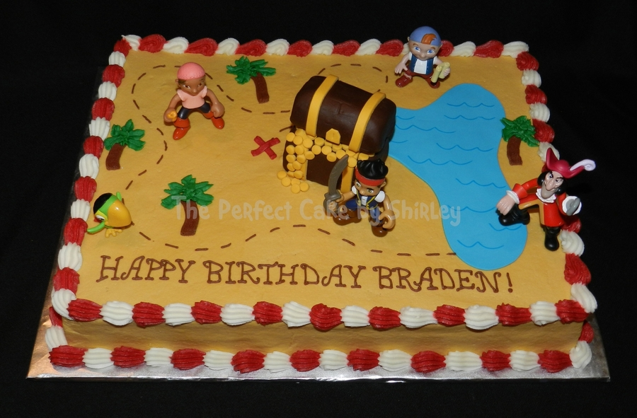 Phenomenal Jake And The Neverland Pirates Cakecentral Com Funny Birthday Cards Online Inifodamsfinfo