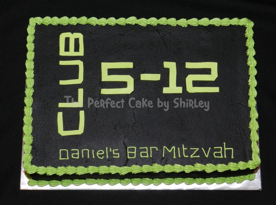 Bar Mitzvah on Cake Central
