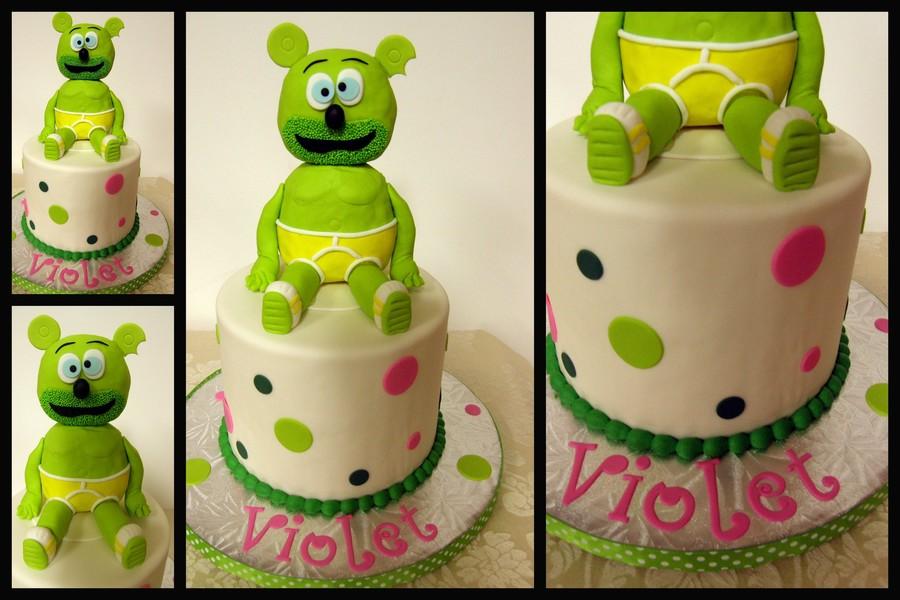Ist Birthday Gummibar Cake Gummy Bear Cakecentral