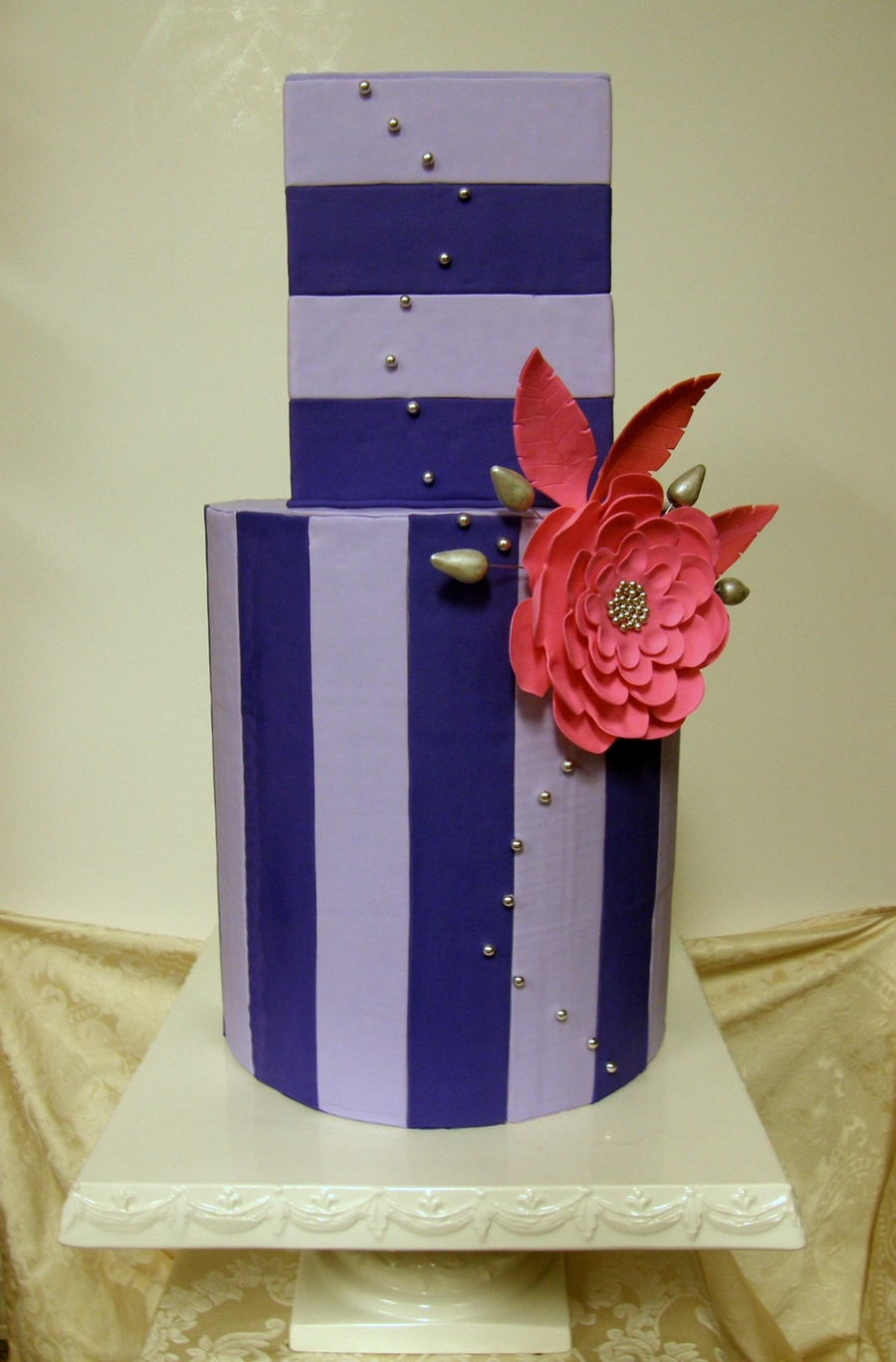 Shades Of Lavendar on Cake Central