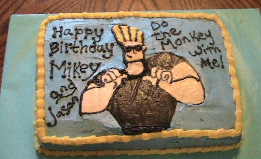 Johnny Bravo on Cake Central