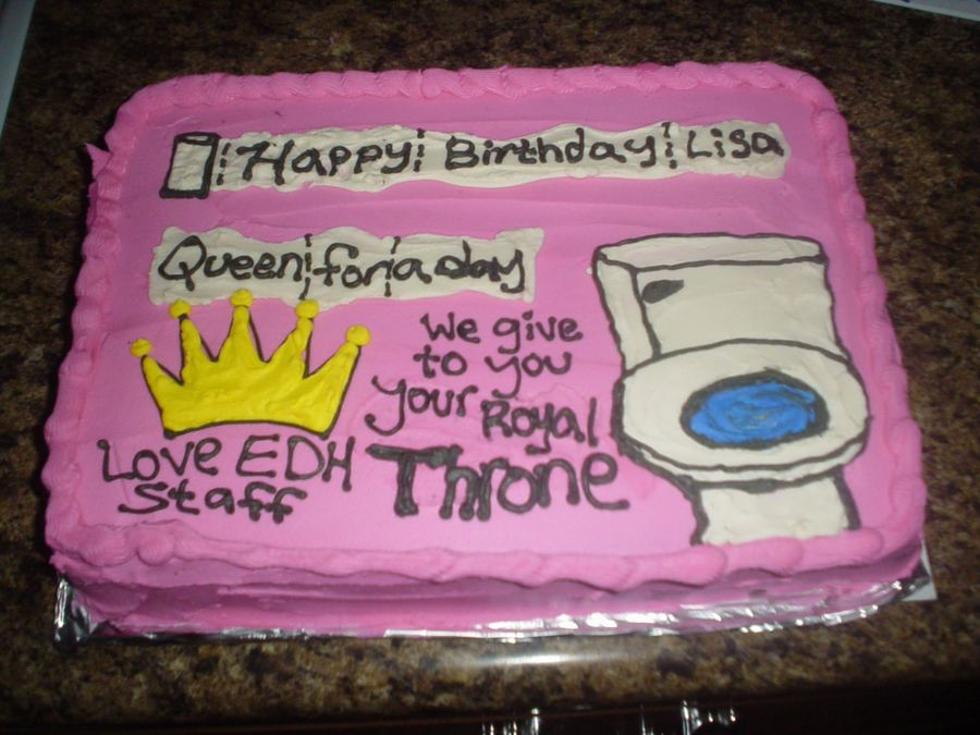 Funny Birthday Cake on Cake Central