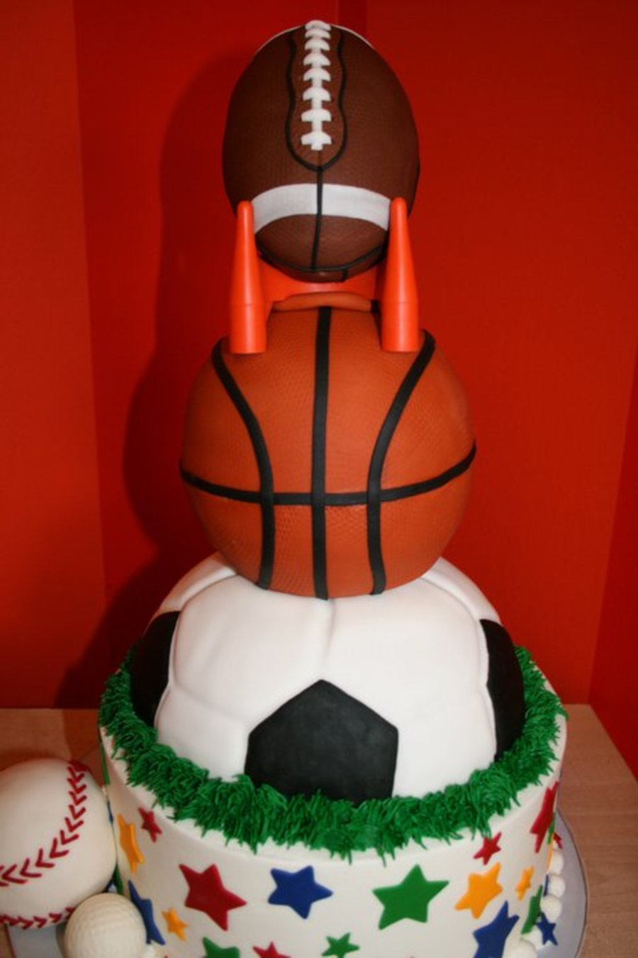 Sports Ball Cake Images