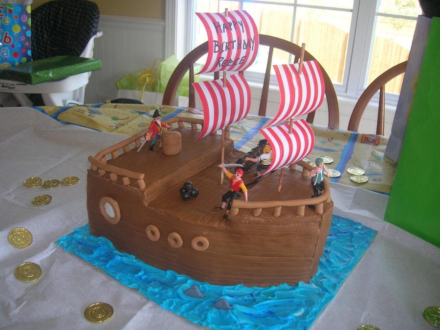 Pirate Ship Birthday Cake Cakecentral