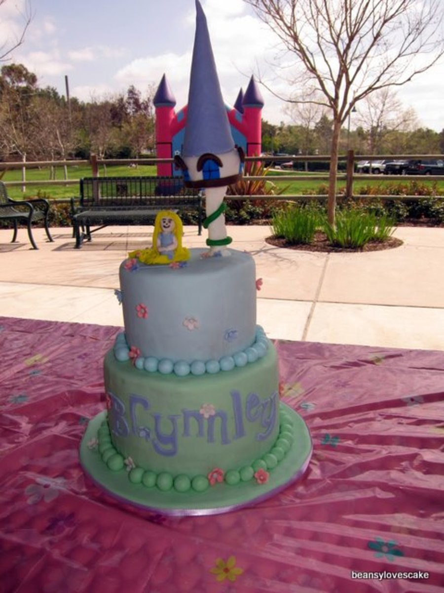 Disney Tangled Cake on Cake Central