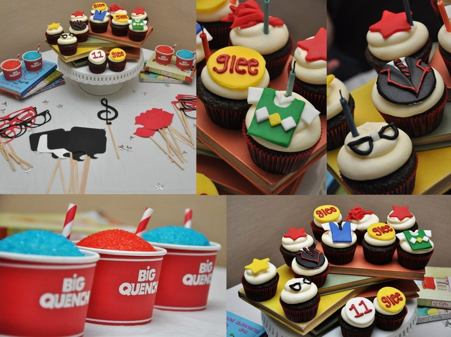 Glee Cupcakes on Cake Central