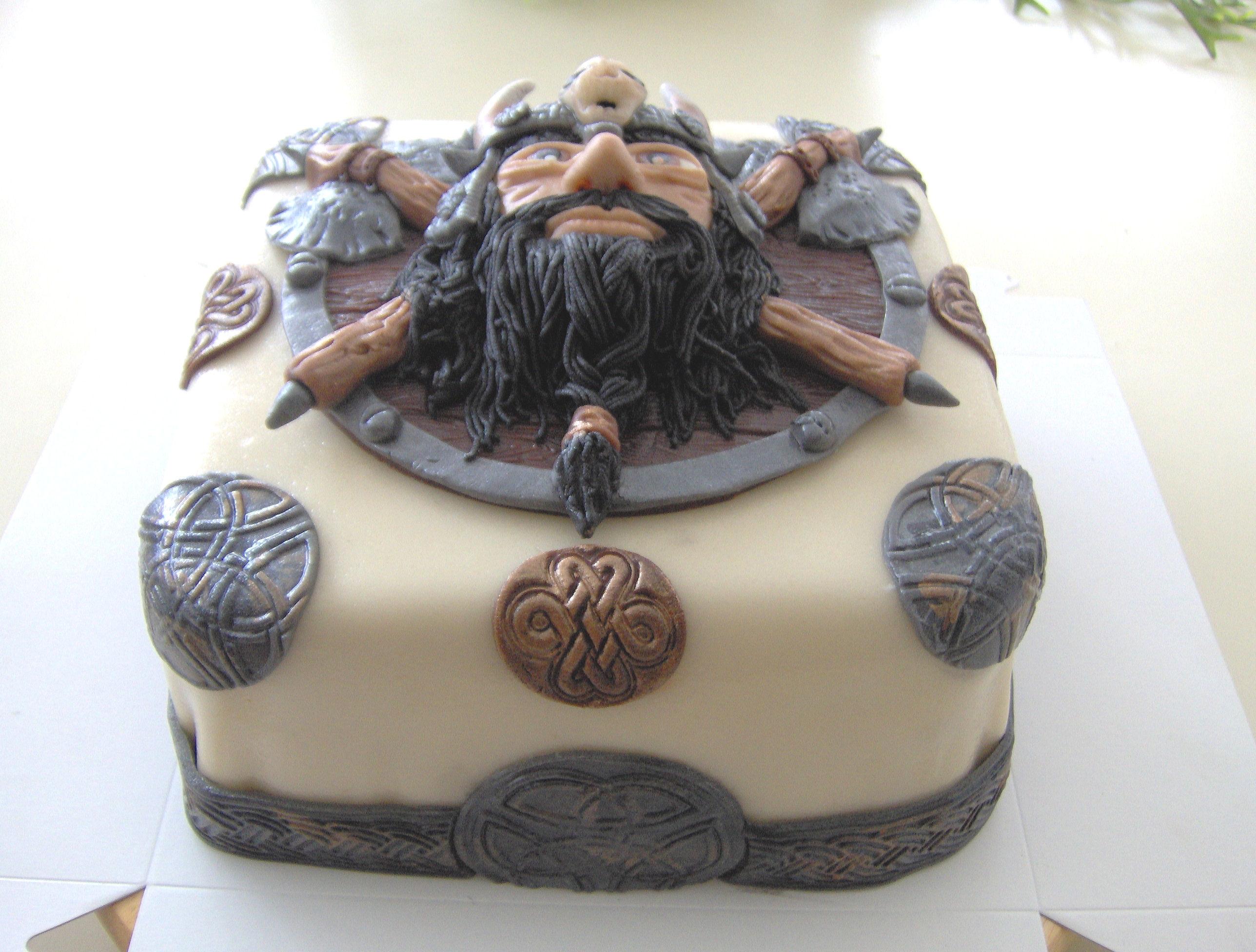 Viking Wedding Cakes