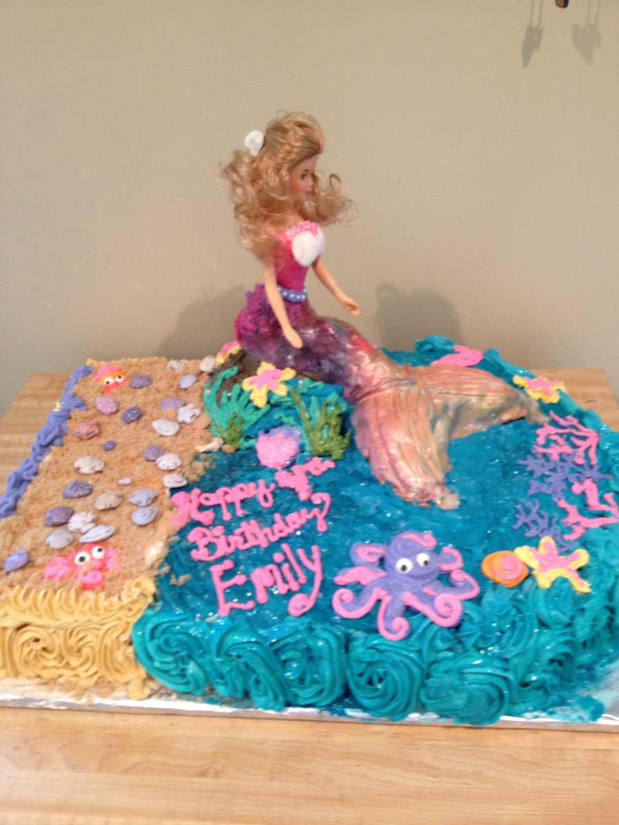 Barbie Mermaid on Cake Central