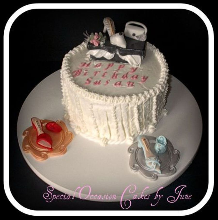 Susan's Shoe Boutique on Cake Central