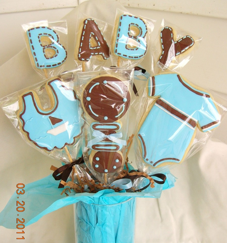 Baby Shower Bouquet on Cake Central